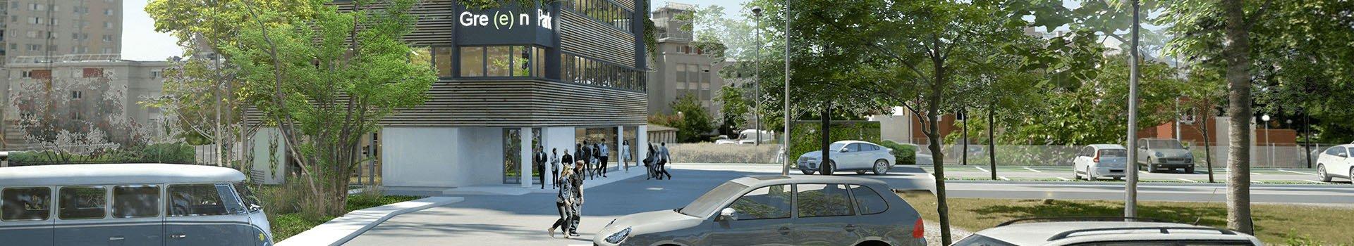 Le projet immobilier GreenPark Talence en réalité augmentée