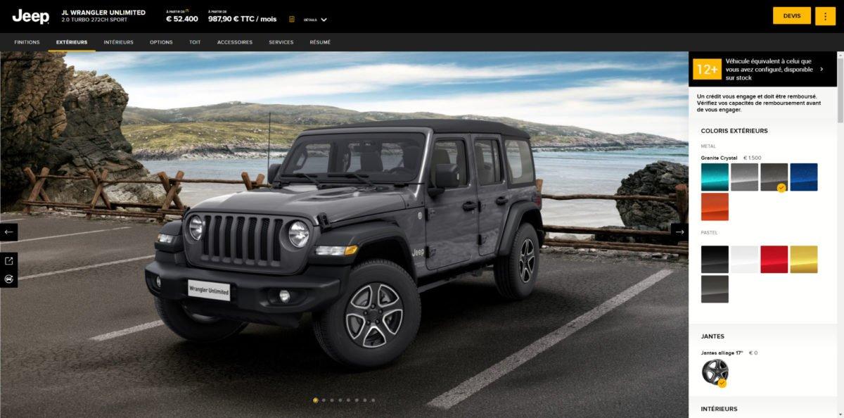 Exemple de site web avec réalité augmentée (AR)